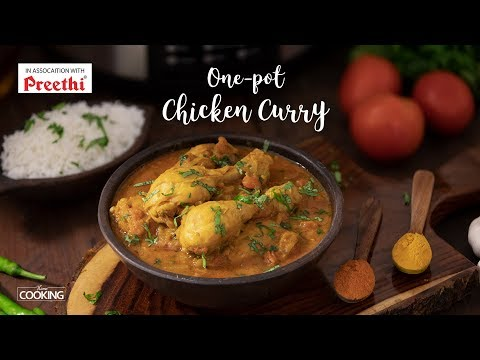 One-pot Chicken Curry | Preethi Electric Pressure Cooker | Easy Chicken Curry