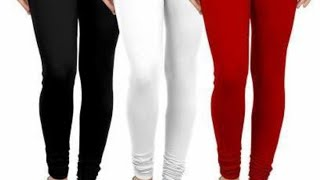 Shopping at my shop Combo pack of 3 cotton lycra leggings