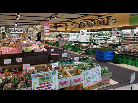 Japanese supermarket tour 2017 - Making grocery in Japan