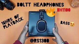 Boltt Headphones BH1100!!(UNBOXING + REVIEW)