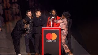 Gorillaz win British Group | The BRIT Awards 2018