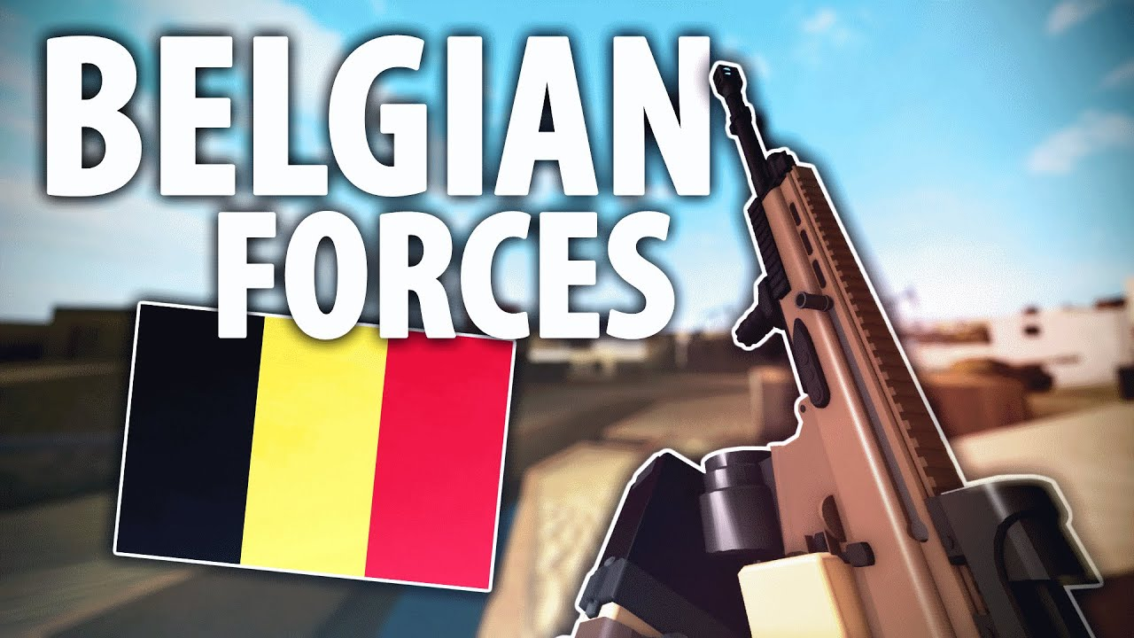 Download Belgian Forces! (also talking about my channel)