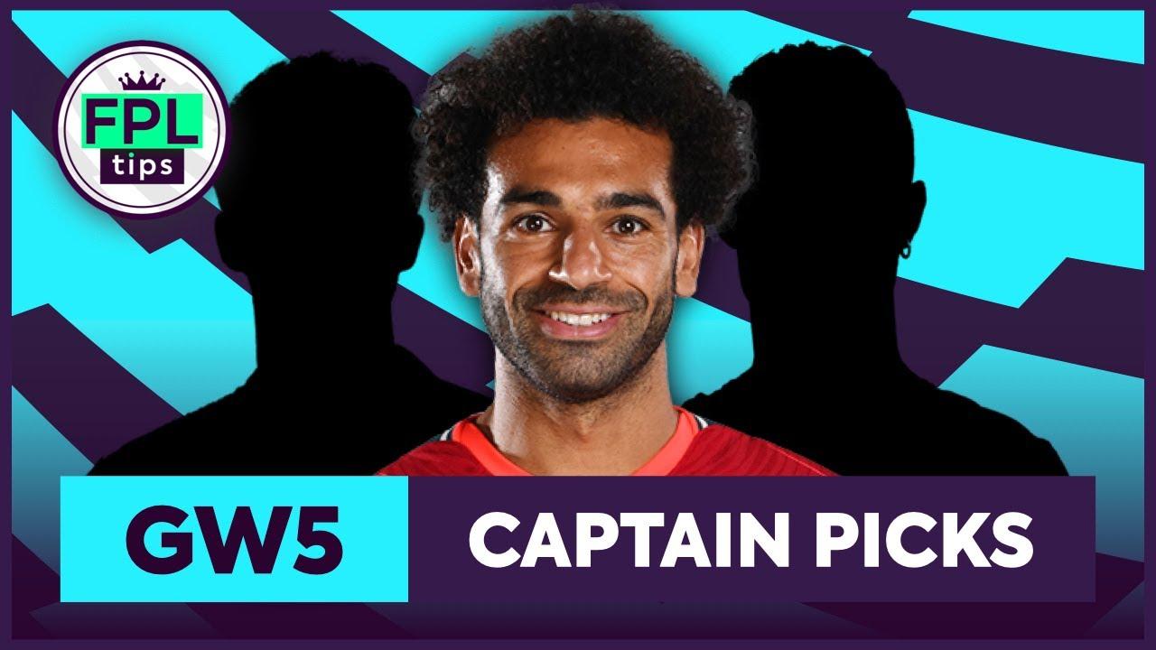 FPL GW5: CAPTAINCY PICKS | Salah or Ronaldo? | Gameweek 5 | Fantasy Premier League Tips 2021/22