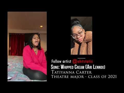 Union County College Virtual Open Mic Night TatiyannaCarter