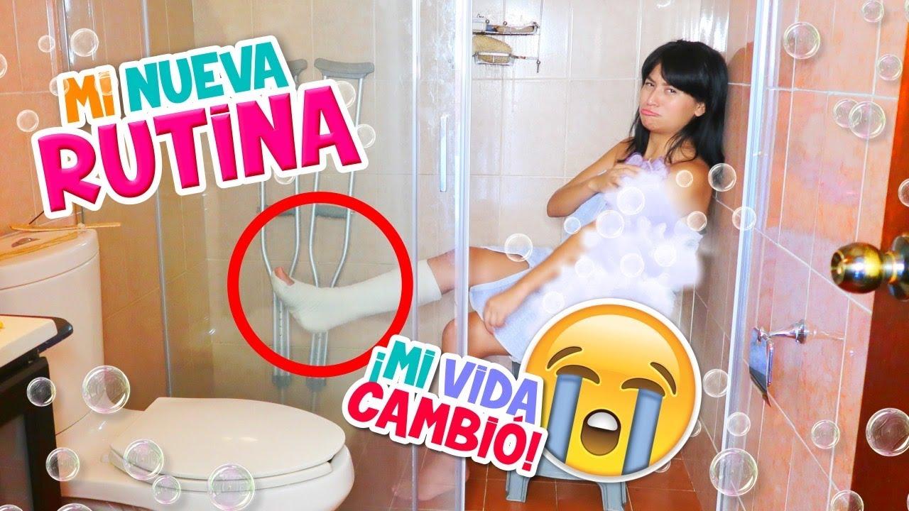 Download MI RUTINA CON MULETAS 👣 ¡Todo MI DÍA Cambió!😭 | Conny Merlin