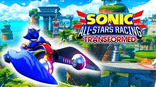 Sonic and All Stars Racing Transformed - Ocean View - Metal Sonic [1080p 60 fps]
