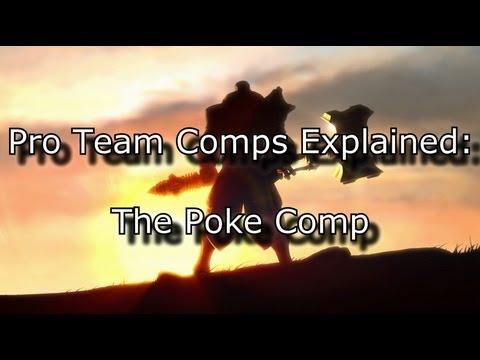 Pro Team Comps Explained: The Poke Comp | League of Legends LoL