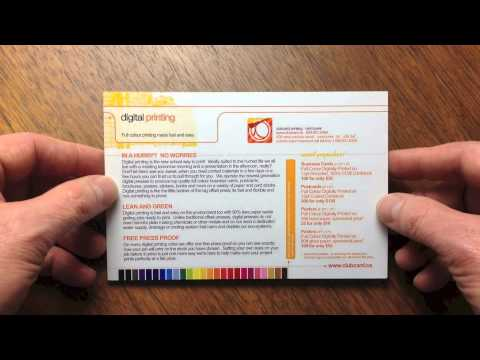 Clubcard Printing Canada 12 Point Coated 2 Sides Card Stock | Clubcard TV