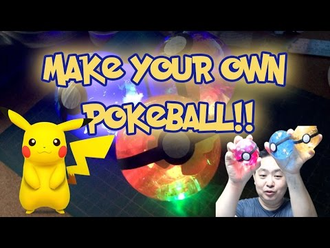 Make your own Pokeball! - Pokémon Go Pro Tip 9