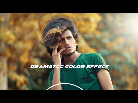 Dramatic Color Effect in Outdoor Editing - Photoshop   Photoshop cc Tutorial   Bilal Rajpoot thumbnail
