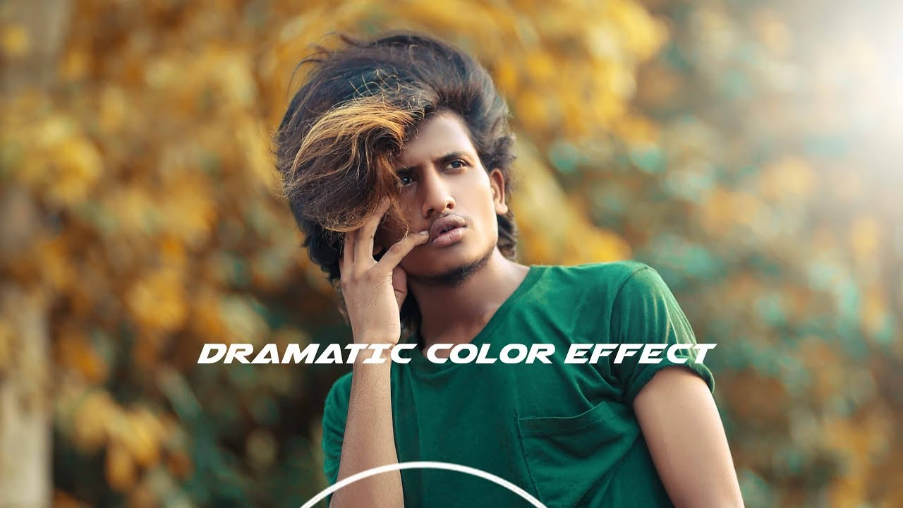 Dramatic Color Effect in Outdoor Editing – Photoshop | Photoshop cc Tutorial | Bilal Rajpoot