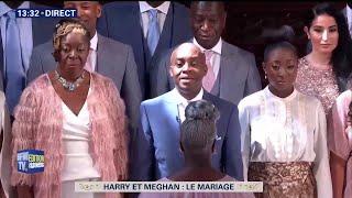 """Une chorale gospel chante """"Stand by me"""" pour le mariage de ..."""