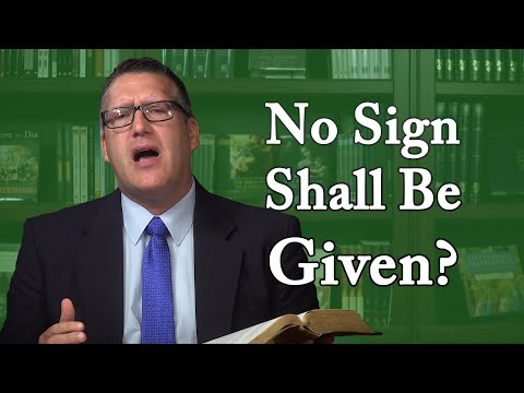 Why Jesus Rejected Sign-Seekers of His Time