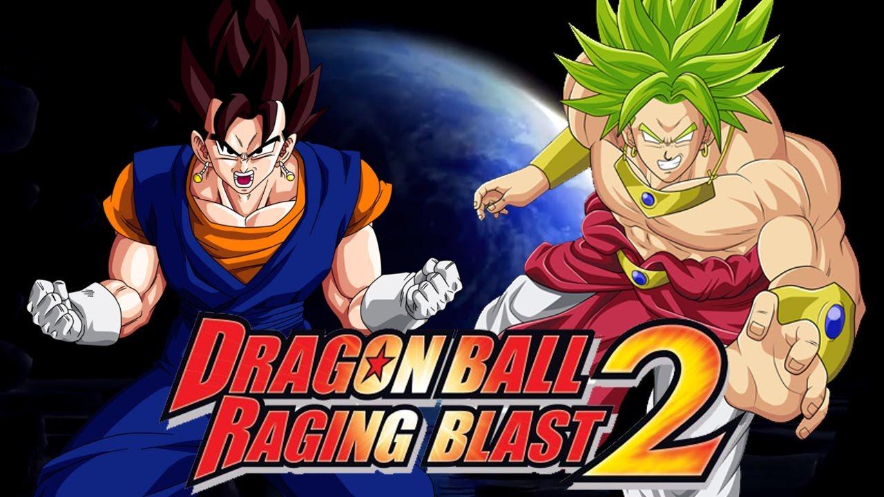 Dragon Ball Raging Blast 2: Vegito vs LSSJ Broly (Live ...