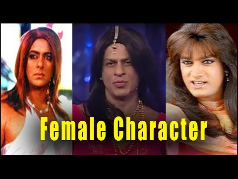 Bollywood Actors Who Played Female Roles in Movies