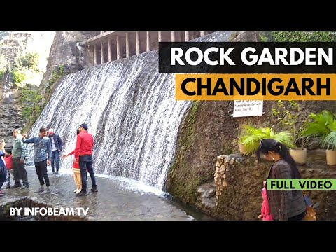 Rock Garden Chandigarh | Famous Places of Chandigarh