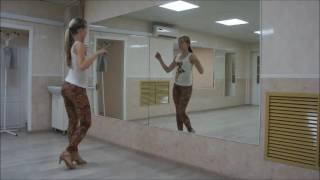 kizomba lady style разминка упражнения КИЗОМБА (женский стиль)