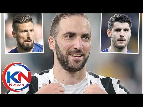 Sarri ready to sacrifice Giroud AND Morata to sign Higuain for Chelsea