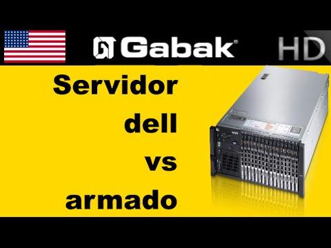 Diferencia entre un servidor armado y uno de marca DELL por ejemplo