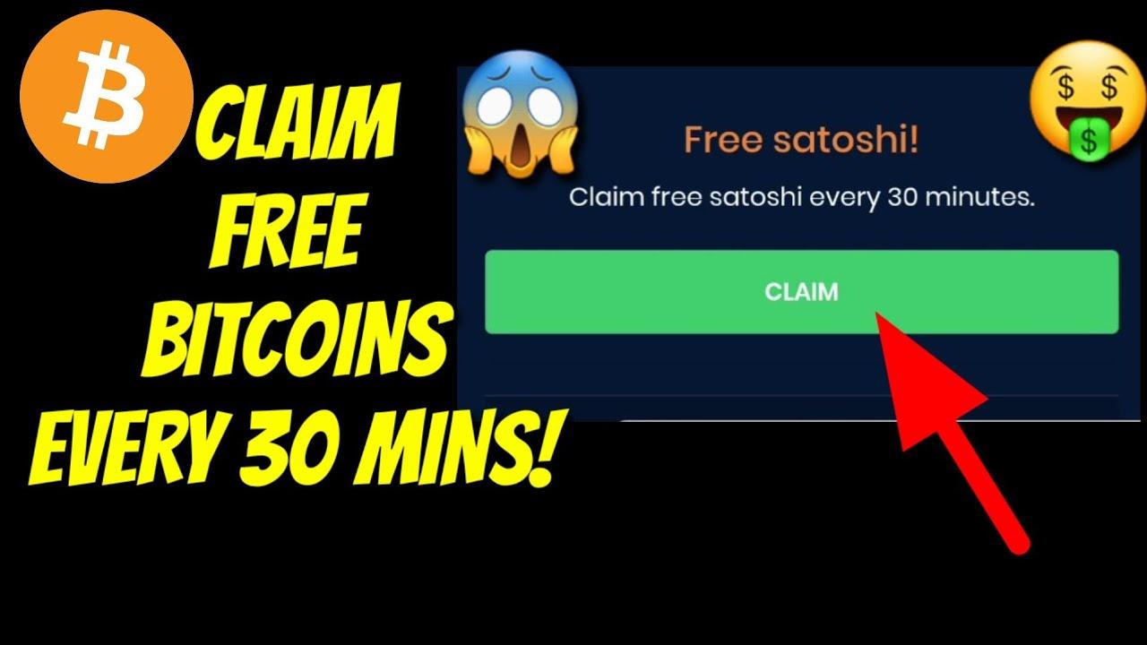 Free bitcoins every 30 seconds peta pantai muara betting patinggi ali
