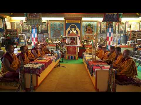 Drepung Gomang Sacred Arts Tour . Nitsan, 2017.    part1