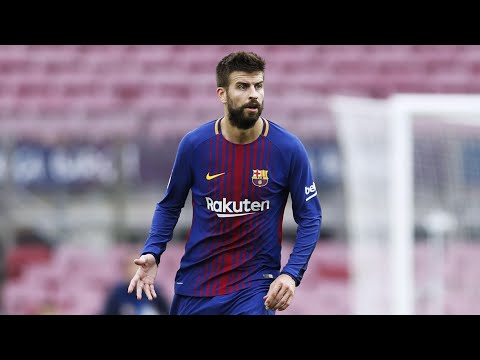 Emotional Piqué offers to end Spain career after Catalonia violence