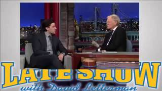 Oscar Isaac Whitney Cummings Drenge David Letterman Show