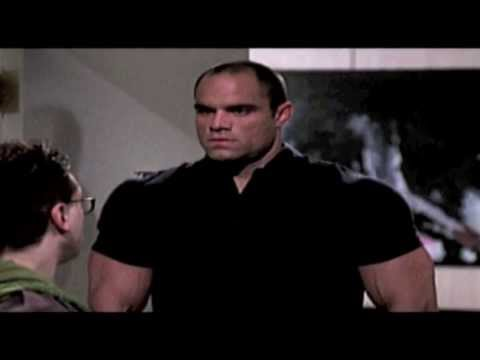 Big Ripped Bodybuilder in funny Big Bang Theory pilot episode