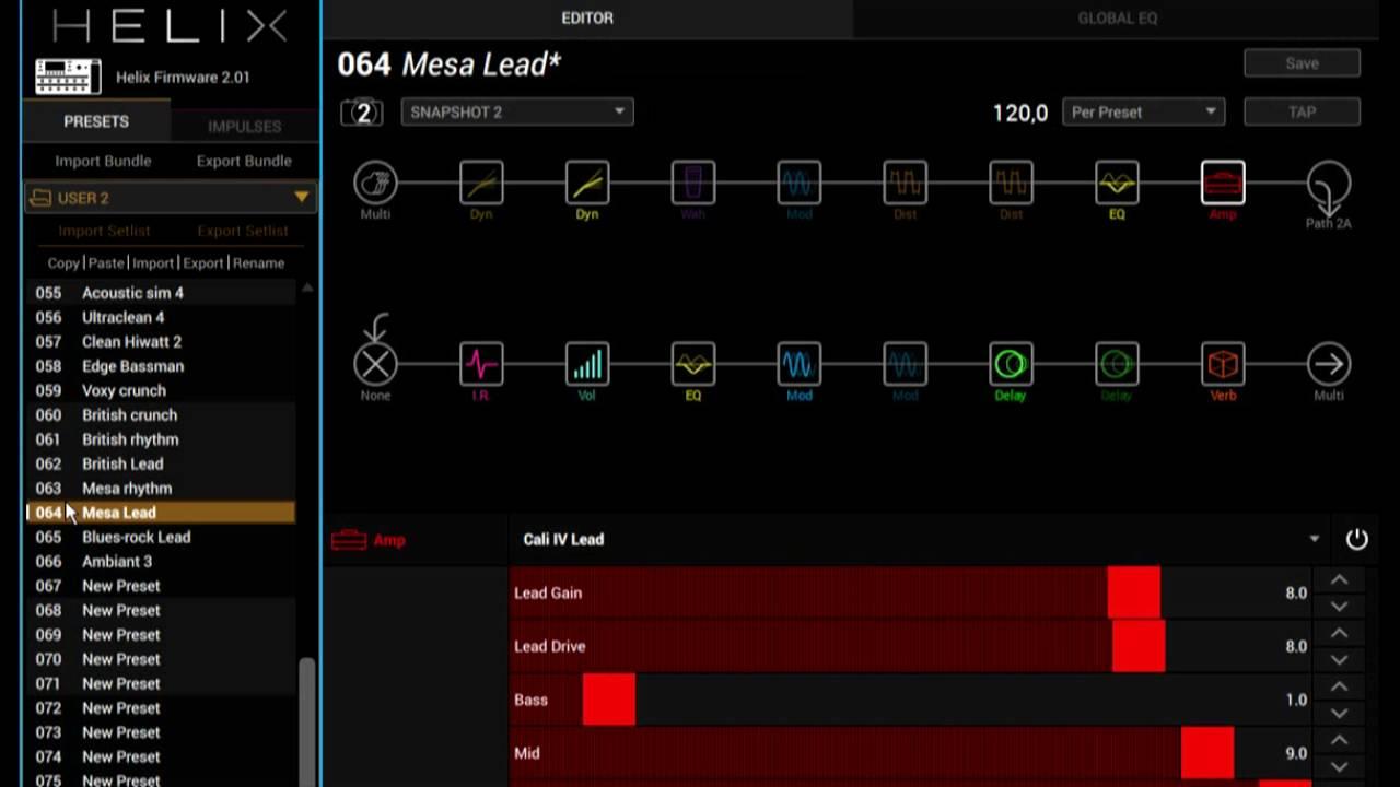 Helix presets starter pack