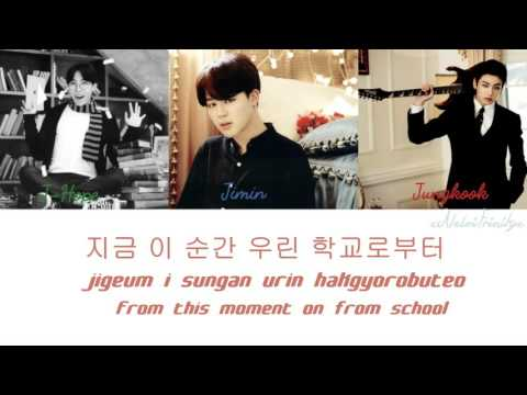 BTS (방탄소년단) - Graduation Song[Color Coded:Hangul/Romanization/English]