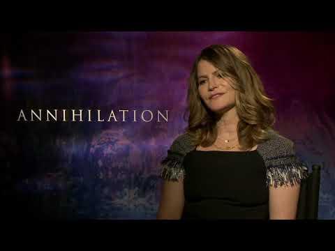 Annihilation: Jennifer Jason Leigh Official Movie Interview