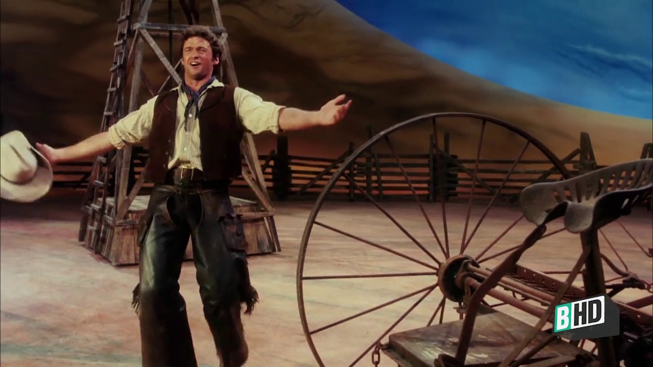 Hugh Jackman Oh What A Beautiful Mornin Oklahoma Broadwayhd Youtube