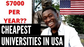 Cheapest Colleges