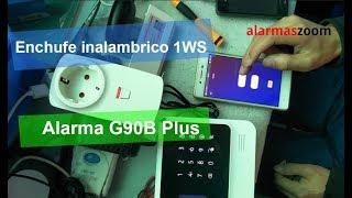 Configuración enchufe inalámbrico G90B-1WS con alarma WiFi G90B Plus