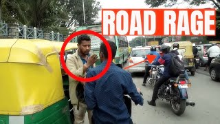 Road Rage in Bengaluru | Auto Drivers in India | Road Rage in India