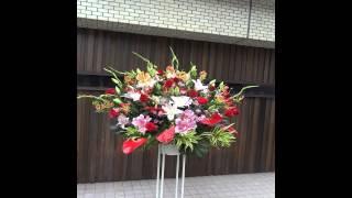 赤坂レッドシアターへ水野美紀様あてスタンド花を お届けしました。 む...
