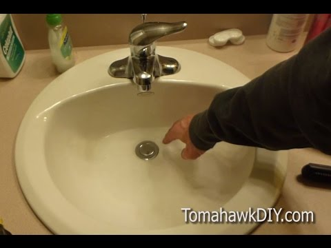 How To Fix A Leaky Sink Drain Stopper Plug Easy Do