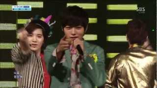 INFINITE [Pria jatuh cinta] @ SBS Inkigayo Lagu populer 20130331