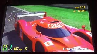 Gran Turismo 3 A-Spec GT-ONE Race Car (TS020) Grand Valley Speedway 1/2