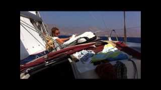 Aegean Sea sailing - Small Cyclades, Beautiful Greece