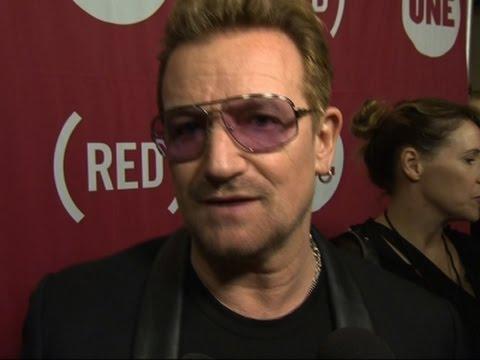 Bono Praises US Response to AIDS
