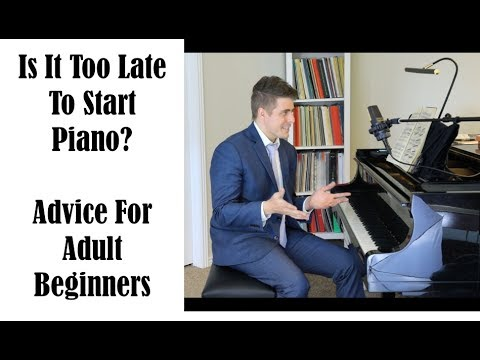 Is It Too Late To Learn Piano Advice For Students Wanting To Learn To Play