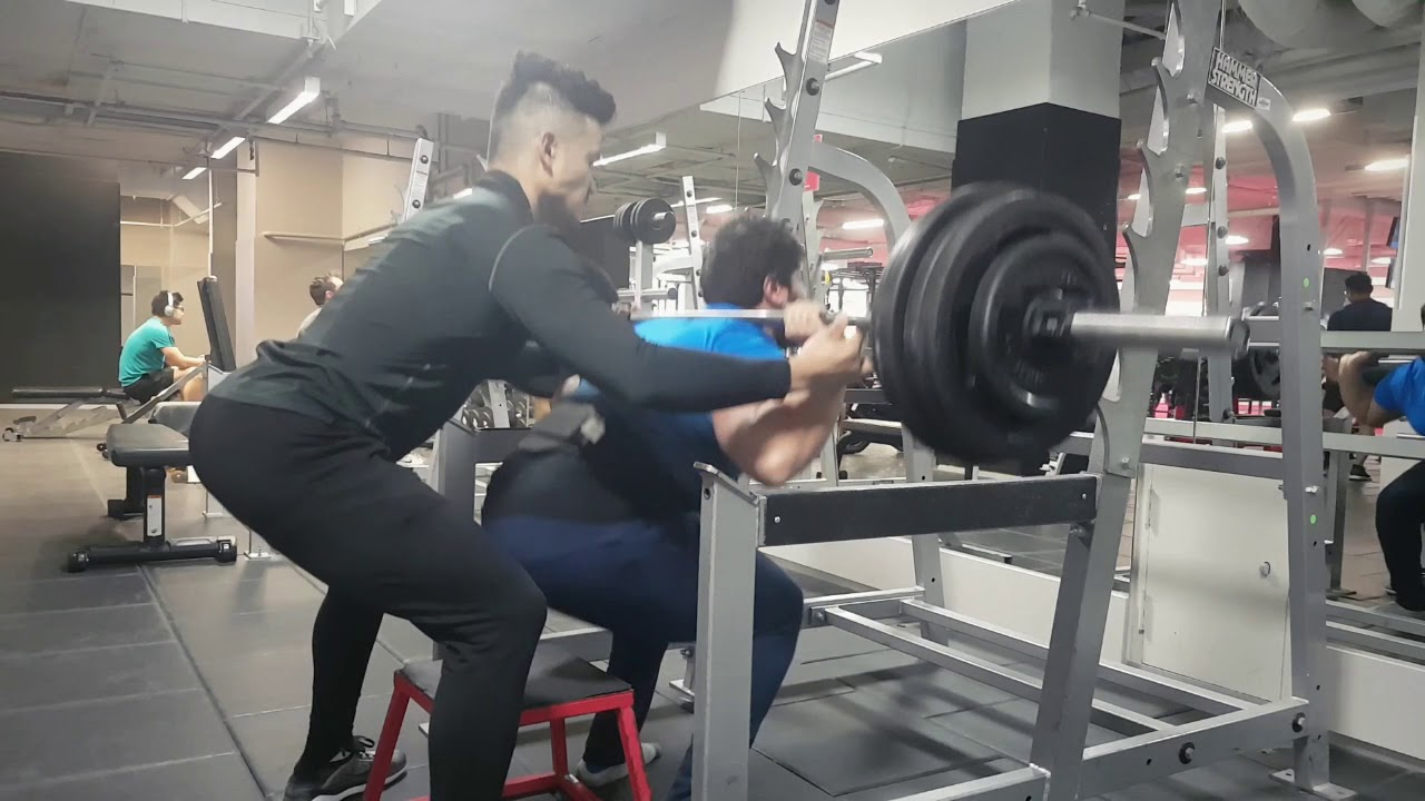 Bader low-box Squats 120kg