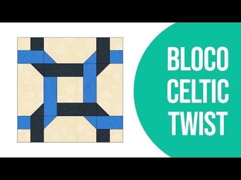 Como Fazer o Bloco Celtic Twist | Patchwork Sem Segredos | Ana Cosentino