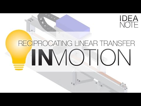 Belt & Pulley Reciprocating Linear Transfer System | MISUMI InCAD LIBRARY: IN MOTION | MISUMI USA