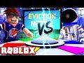 TRYING TO KICK OUT MY PARTNER! -- ROBLOX EVICTION NOTICE!
