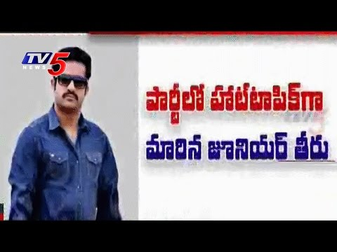 Nara - Nandamuri Family Dispute | Jr NTR  Off Campaign : TV5 News