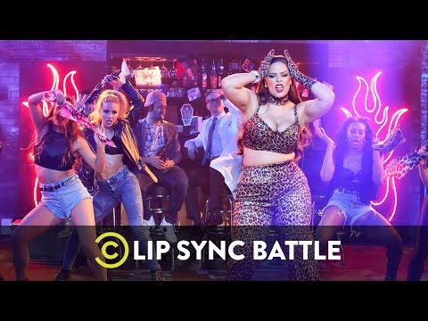 Lip Sync Battle - Ashley Graham from YouTube · Duration:  1 minutes 42 seconds