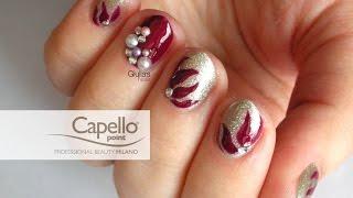 Nail Art - Tutorial 202 - Glam Christmas con Capello Point