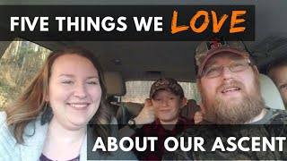 5 Things We LOVE about our 2019 Subaru Ascent!
